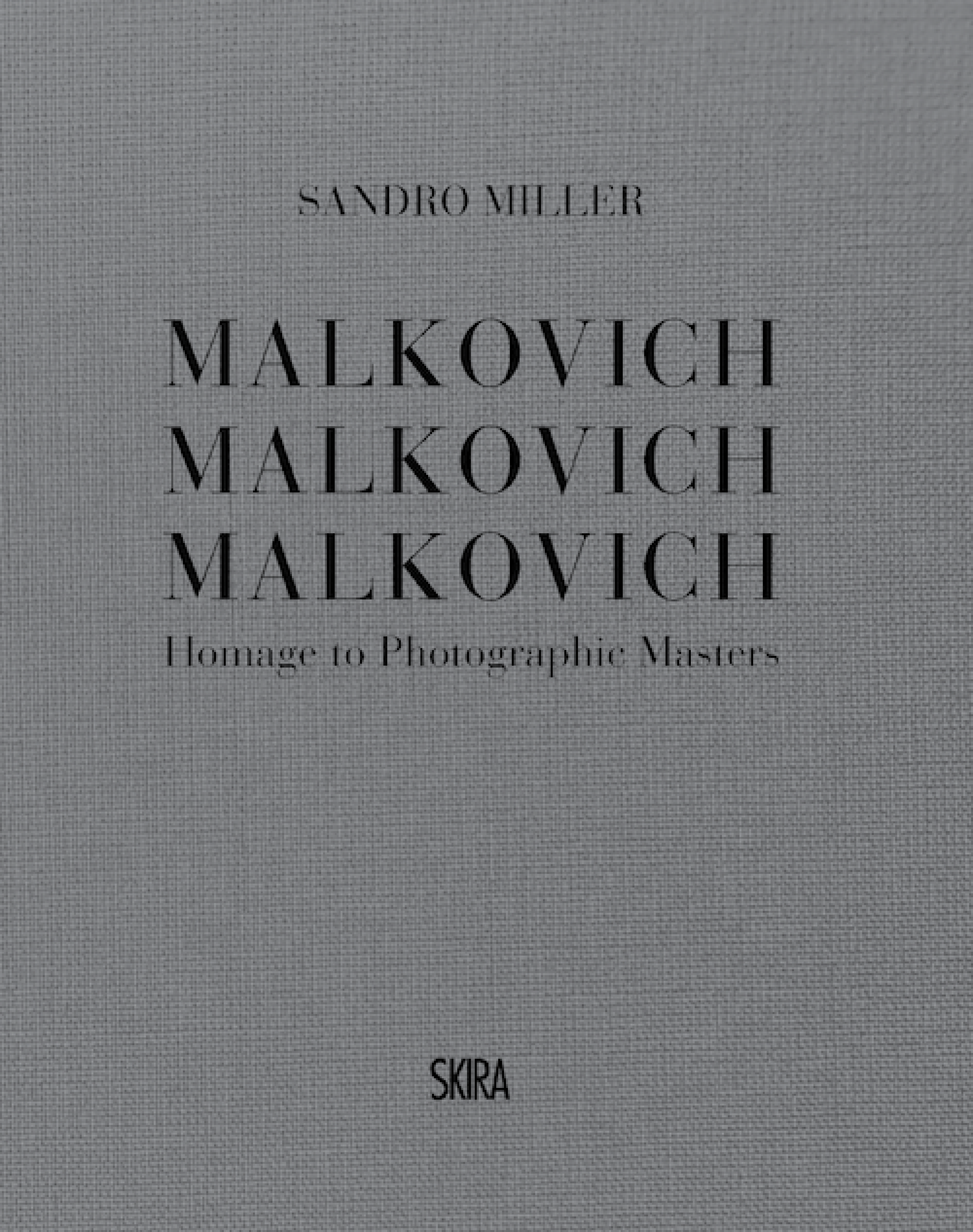 Sandro Miller: Malkovich, Malkovich, Malkovich; Homage to Photographic Masters